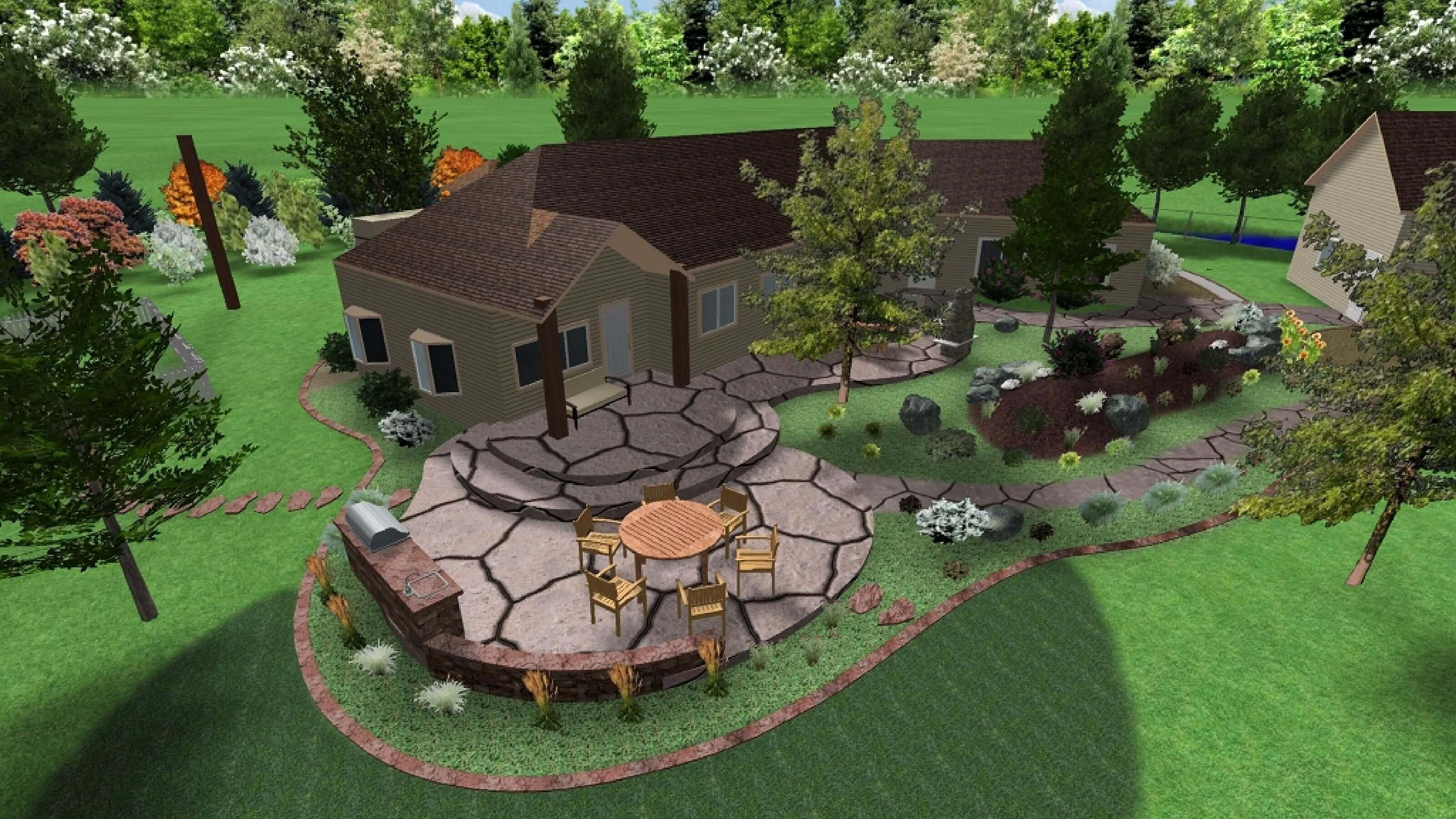 Online Landscape Designs Online Landscape Design Service And Pricing